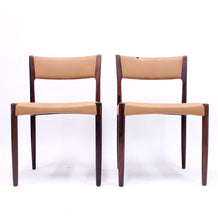 Load image into Gallery viewer, Pair of Danish rosewood chairs, 1960s