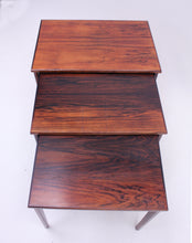 Load image into Gallery viewer, Scandinavian rosewood nesting tables, 1960s
