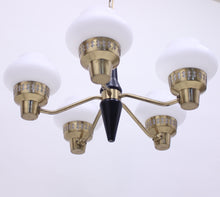 Load image into Gallery viewer, ASEA five light ceiling lamp, 1950s
