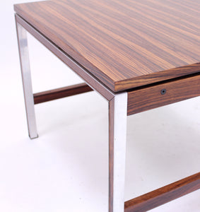 Scandinavian rosewood coffee table, 1960s