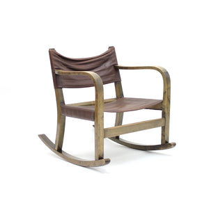 Eskil Sundahl art deco rocking chair for Bodafors, 1930s
