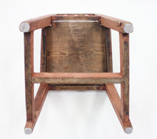 Load image into Gallery viewer, Antique Swedish rustic pine child chair, mid 19th century