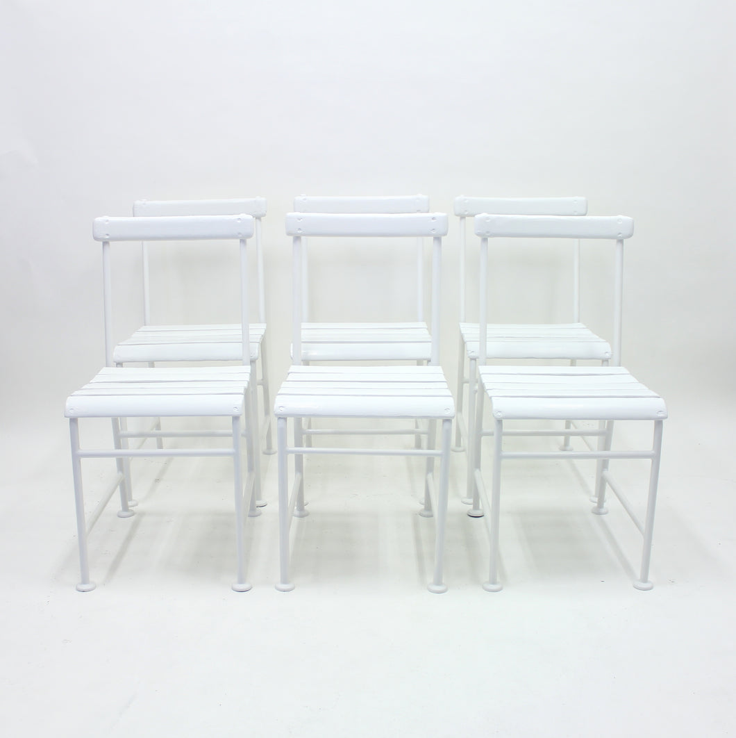 Gunnar Asplund, set of 6 garden chairs for Iwan B. Giertz, 1930s