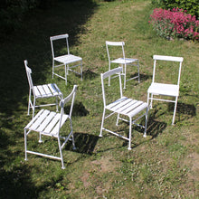 Load image into Gallery viewer, Gunnar Asplund, set of 6 garden chairs for Iwan B. Giertz, 1930s