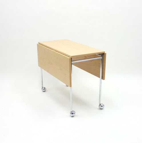 Bruno Mathsson, Berit folding side table, Mathsson International AB, 1980s