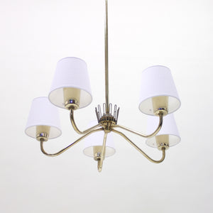 ASEA chandelier with 5 lights, 1950s