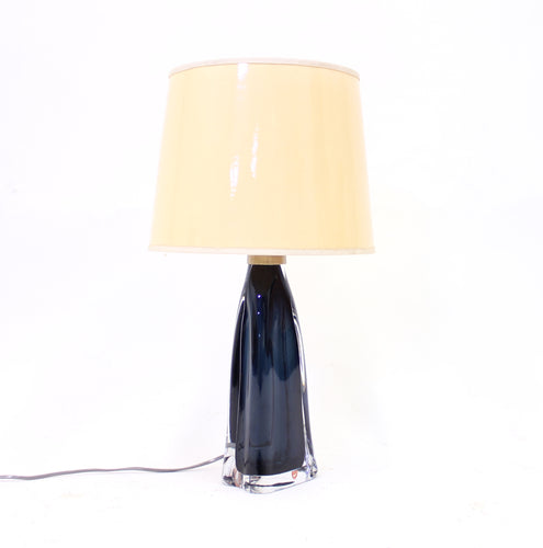 Carl Fagerlund, glass table lamp for Orrefors, 1960s