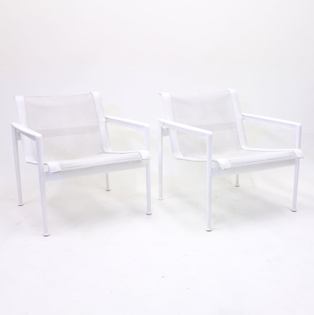 Richard Schultz, pair of low armchairs, The Schultz Collection, B&B Italia