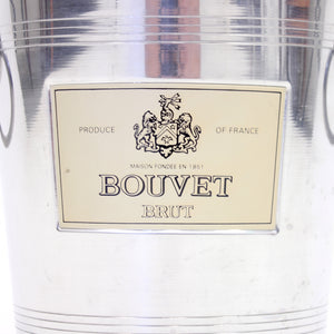 Vintage French Bouvet Brut wine cooler, late 20th century