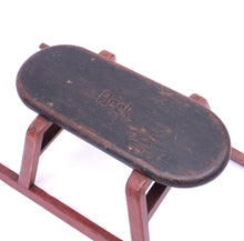 Load image into Gallery viewer, Vintage wooden sled, 1930-40s