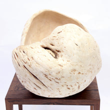 Load image into Gallery viewer, Exceptional and very large Swedish burl bowl of birch, 1984