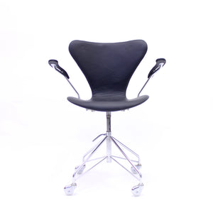 Arne Jacobsen, office chair model 3217 for Fritz Hansen, 1960s