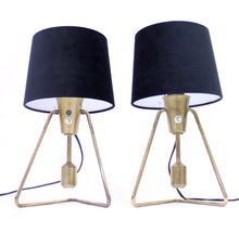 Load image into Gallery viewer, Pair of ASEA brass table- / wall lamps, 1950s