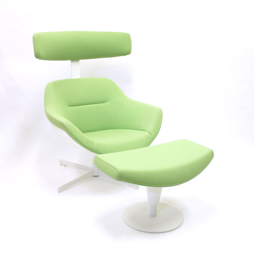 Jean-Marie Massaud, Auckland lounge chair and ottoman, Cassina, ca 2005