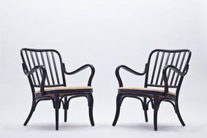 Chairs Model A 752 by Josef Frank for Thonet, 1960s, Set of 2