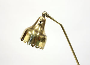 Mid-Century Brass Table Lamp from Svend Aage Holm-Sørensen, 1950s