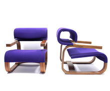 Load image into Gallery viewer, Bentwood Easy Chairs by Jan Bočan for the Czechoslovakian embassy in Stockholm, 1972, Set of 2