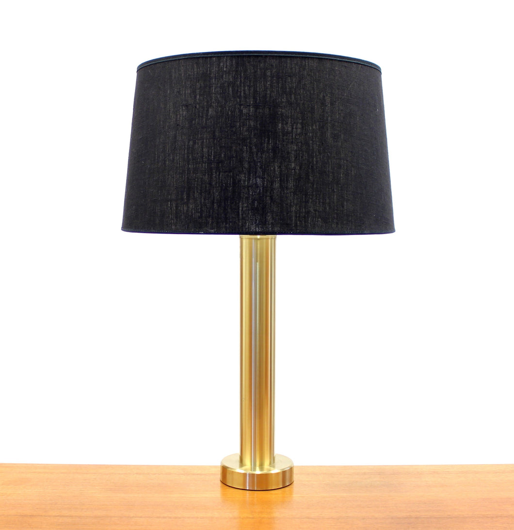 Vintage Swedish Brass Table Lamp from El-Armatur Kosta, 1970s