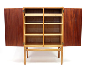 Mid-Century Swedish Cabinet by Axel Larsson for Bodafors, 1950s