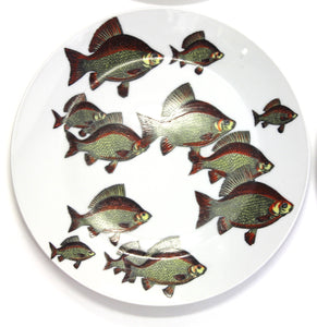Fish Motif Tableware from Fornasetti, 1955, Set of 8