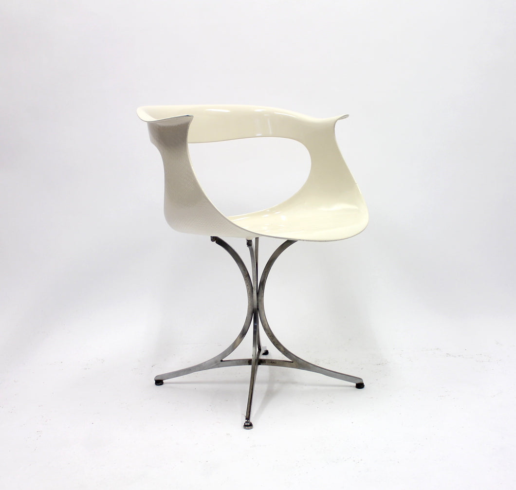 Lotus chair by Erwine & Estelle Laverne for Laverne International, 1960s