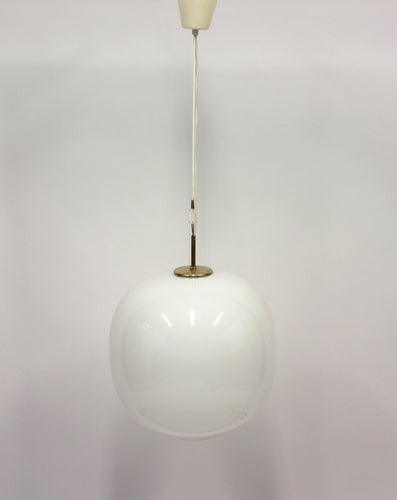 Danish Opaline Radiohus Pendant by Vilhelm Lauritzen for Louis Poulsen