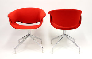 Sina Swivel Chairs by Uwe Fischer for B&B Italia, 2004, Set of 2