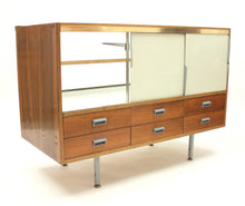 Load image into Gallery viewer, Vintage Rosewood Haberdashery Cabinet