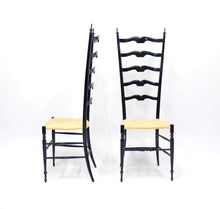 Load image into Gallery viewer, Vintage Italian Chiavari Chairs, 1950s, Set of 2