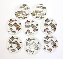 Load image into Gallery viewer, Fish Motif Tableware from Fornasetti, 1955, Set of 8