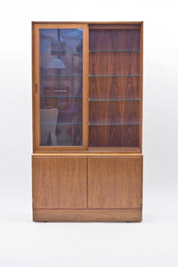 Danish Rosewood Vitrine by Poul Hundevad for Hundevad & Co., 1960s