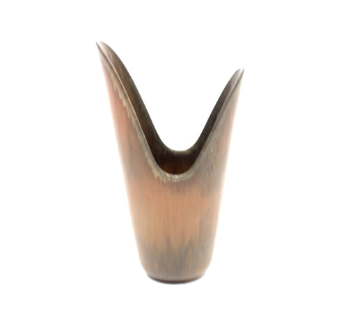 Pike mouth vase by Gunnar Nylund for Rörstrand, 1950s