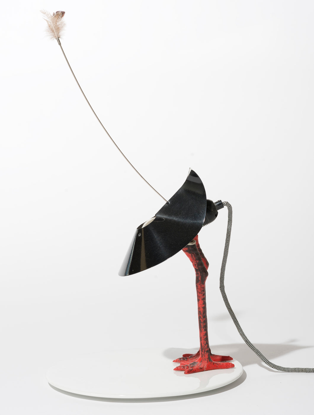 Ingo Maurer, Limited edition Bibibibi lamp, 1982