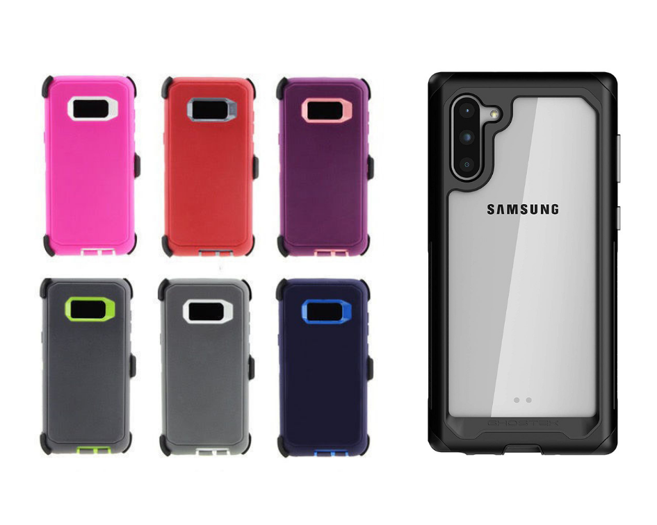 RUGGED Cases with Belt Clip for  SAMSUNG Galaxy Devices