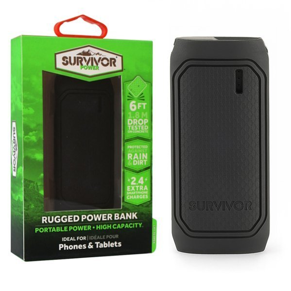 GRIFFIN SURVIVOR RUGGED POWER BANK 6000mAh