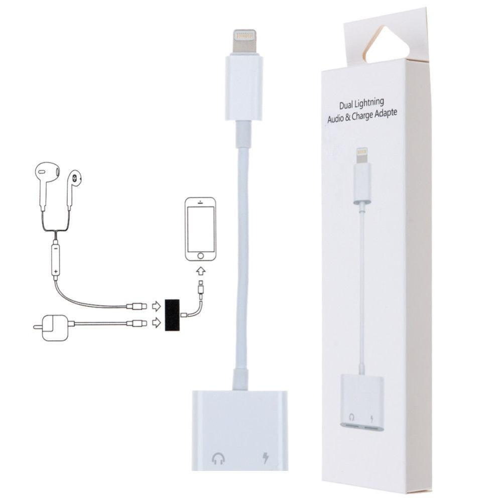 AUDIO AND CHARGE Dual Function Splitter For iPhone