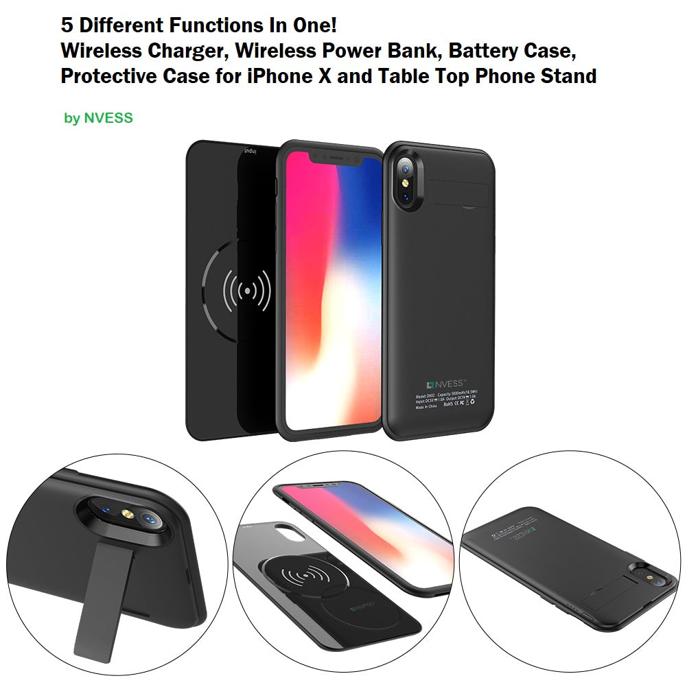 IPHONE X/XS WIRELESS BATTERY CASE