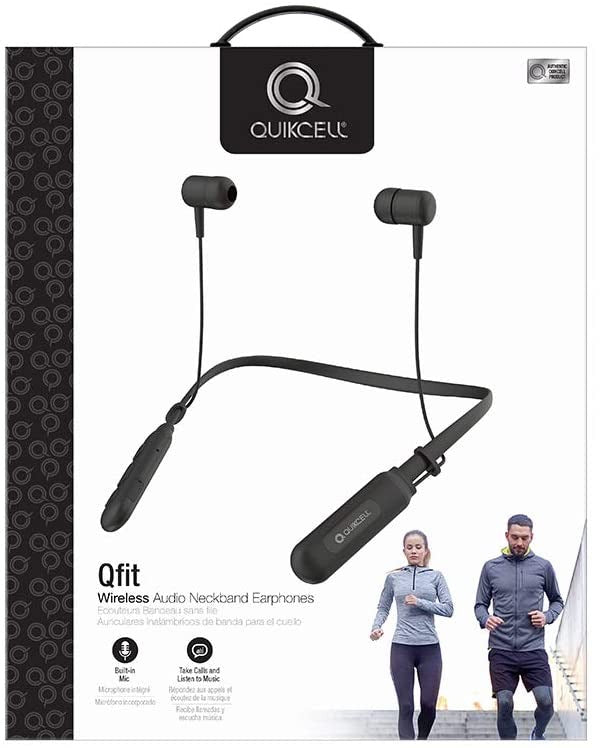 Quikcell QFIT Wireless Neck Headphones