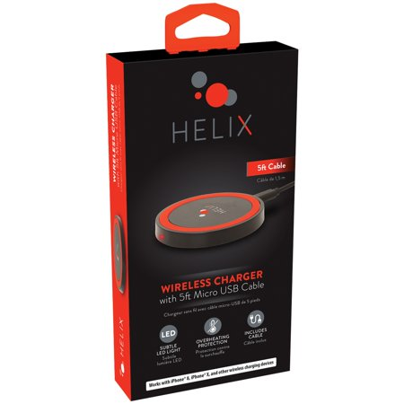 Helix Wireless Charger 5ft Cable 5W
