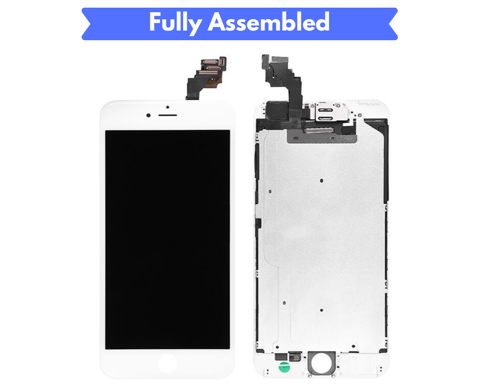 PHONE 6 PLUS SCREEN Fully Assembled with Front Camera and Proximity Sensor