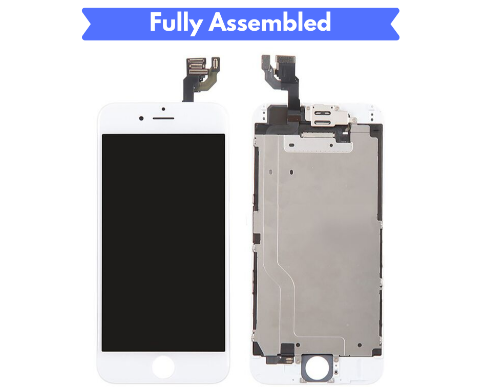 IPHONE 6 SCREEN Fully Assembled with Front Camera and Proximity Sensor