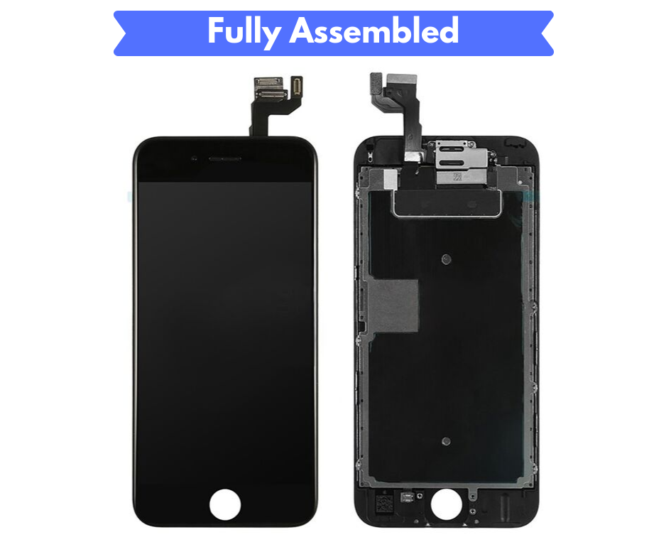 IPHONE 6S SCREEN Fully Assembled with Front Camera and Proximity Sensor