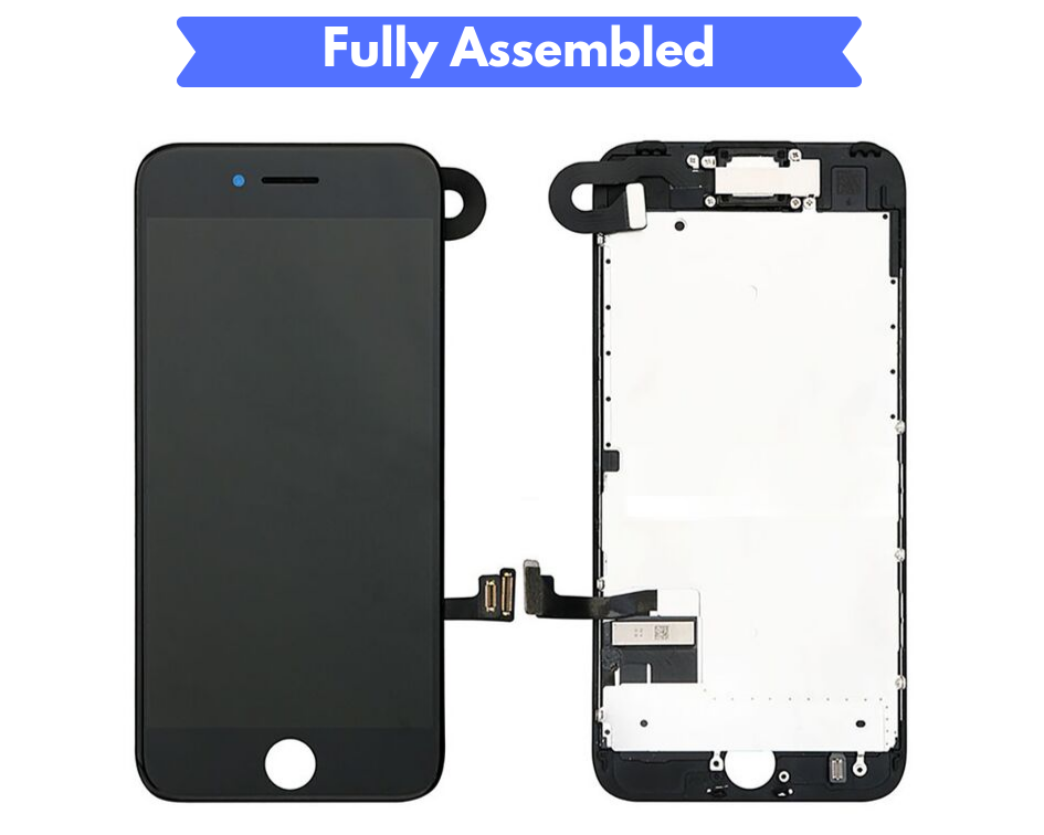 IPHONE 7 SCREEN Fully Assembled with Front Camera and Proximity Sensor