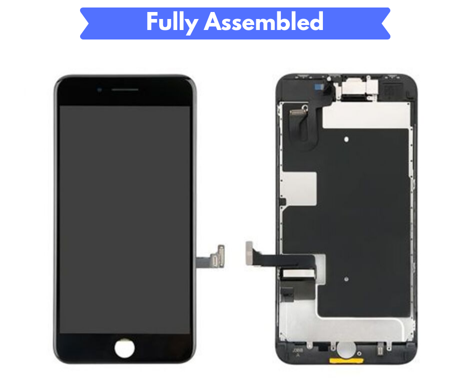 IPHONE 8 Plus SCREEN Fully Assembled with Front Camera and Proximity Sensor