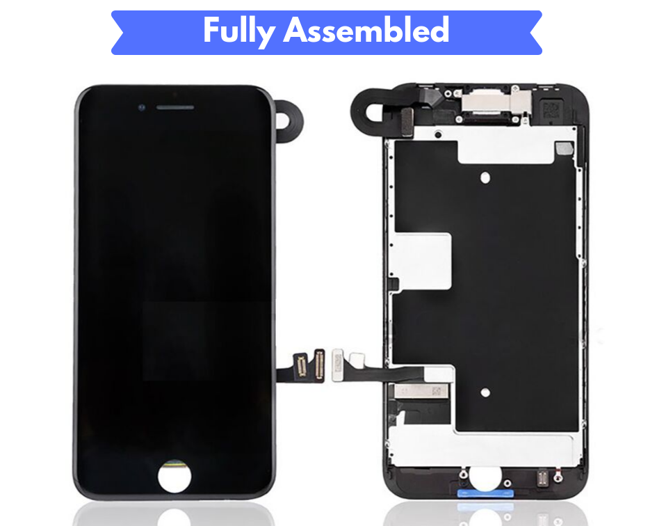IPHONE 8 SCREEN Fully Assembled with Front Camera and Proximity Sensor