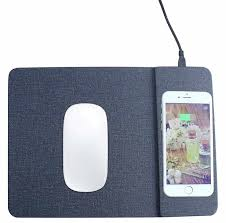 Wireless Qi Fast Charger Mousepad
