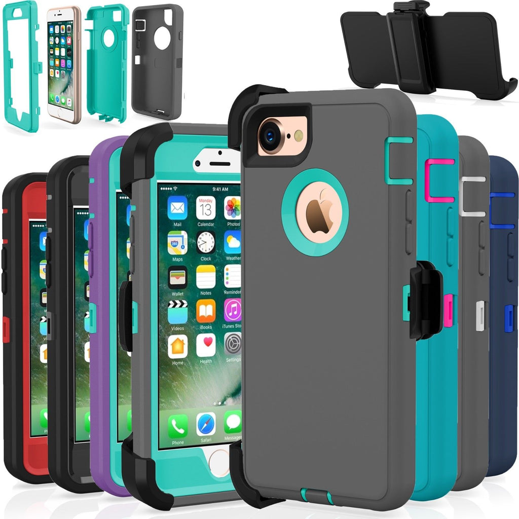 RUGGED Cases with Belt Clip for IPHONES