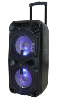 H&A TQLT21009 5000 Watt Bluetooth Speaker