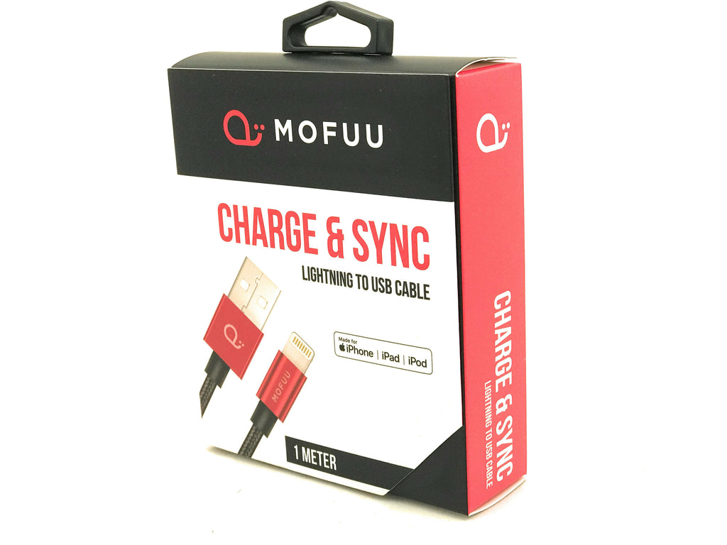 MOFUU Apple 1 Meter Cable (MFI Certified)