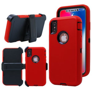 CASES: IPHONE X/XS RUGGED CASES WITH BELT CLIP